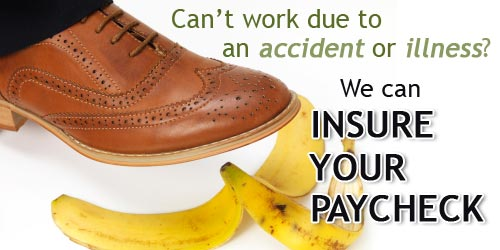Cant work due to injury or illness, we can help!